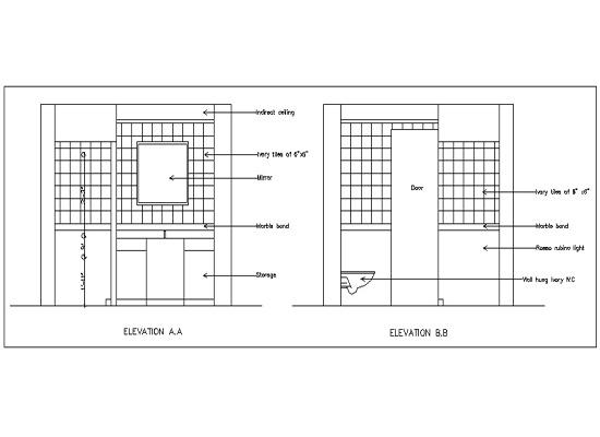Interior Design using AutoCAD