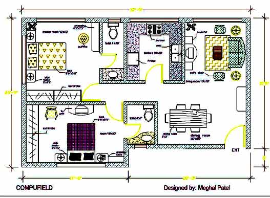 Learn Computer Generated Interior Designing Autocad 3d Studio Max Cad