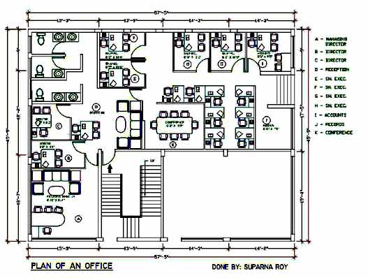 Online Training Interior Architecture Autocad Designing Sample